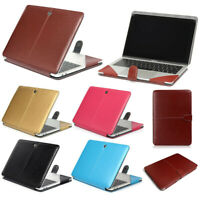 For Macbook 12''A1534 11.6'' A1370/A1465 Laptop PU Leather Sleeve Bag Case Cover