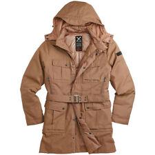 Cappotti e giacche da uomo beige con cappuccio