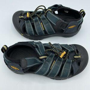 Keen Boys Sandals Newport 9212 Hook And Loop Waterproof Blue Green Size US 1