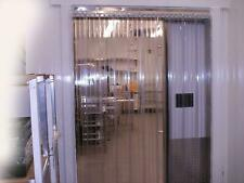 "Pvc/Vinyl Strip Curtain Door 36"" x 84""Cooler 8"" Nsf Best Price on Ebay!"