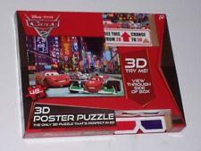 Disney Cars 2 3d Poster Puzzle - 48 Piezas