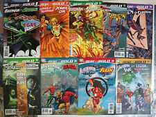 The Brave and the Bold (v3 2007) Lot of 9Diff Supergirl Raven Wonder Woman++