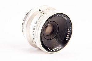 Minolta E Rokkor 50mm f/4.5 Darkroom Photo Enlarging Enlarger Lens V15