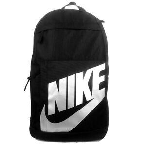 Nike Elemental BLACK /SILVER  Unisex School Gym Travel Backpack Bag AU stock