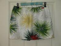 Miss Sixty Luxury Womens Size M (28x13) Linen Blend Skirt 49-14719