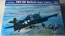 Trumpeter F6F-5N Hellcat Night Fighter 1:32 02259 BONUS RESIN PARTS!
