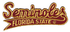 "FLORIDA STATE SEMINOLES NCAA COLLEGE 4.25"" SCRIPT PATCH"