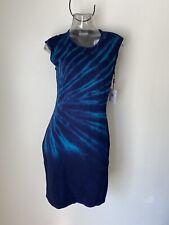 CALVIN KLEIN Bodycon Sheath Dress Tie Dye Sz M,XL NWT CD4W1D43