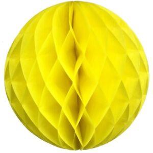 8 inch HoneyComb Tissue Paper Ball Lantern Pom Poms Wedding Birthday Party Shoot