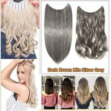 16-24 Inch Secret Line Halo's Hair Extensions Woman Thick As Human Brown Black