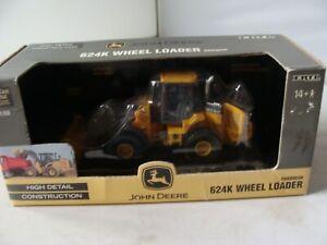ERTL 1/50 - JOHN DEERE 624K WHEEL LOADER - MINT/BOXED - L@@K!!