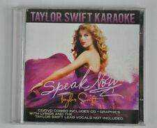 TAYLOR SWIFT - SPEAK NOW: TAYLOR SWIFT KARAOKE USED - VERY GOOD CD