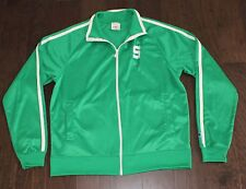 Michigan State Spartans CHAMPION Fieldhouse Men's XL X-LARGE Green MSU Jacket