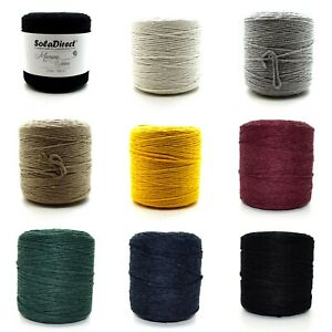 2 mm 3 mm 5 mm Natural Craft Macrame Cotton String Artisan Thread Twisted Cord