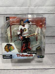 McFarlane SportsPicks 2002  NHL 4 Jocelyn Thibault Chicago Black Hawks