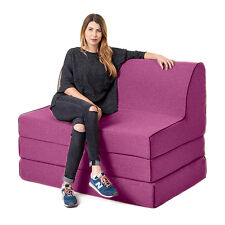 Thistle Olivia Fold out Foam Z Chairbed Sofa 2 Seater Folding Futon Mattress