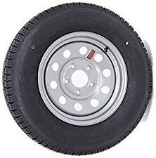 Set Of 4 Contender 205/75/R14 LRC Sliver Mod Trailer Tire / Wheel Assembly 5-4.5
