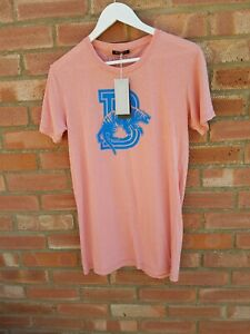 Balmain SS11 B tiger T-shirt - Men's Size Small - Apricot/Pink - New/tags