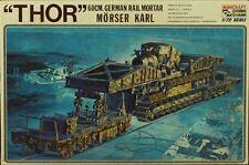 Hasegawa/Minicraft 1:72 THOR 60cm German Rail Mortar Morser Karl - Plastic #032
