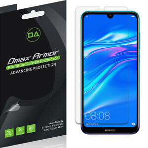 [6-Pack] Dmax Armor Clear Screen Protector for Huawei Y7 (2019)/ Y7 Pro (2019)