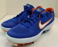Nike Mens Alpha Huarache Florida Gators Rare Baseball Cleats Size 7.5 Blue
