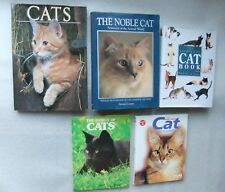Cats, Cats, Cats, Cats, Cats, Lot of 5 Large Hardback books