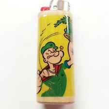 Popeye Pot Lighter Case Holder Sleeve Cover Fits Bic Lighters