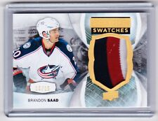 15-16 2015-16 UD PREMIER BRANDON SAAD GOLD SWATCHES PATCH /15 BLUE JACKETS