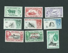 Falkland Island Postage stamps 1938-60 warious issues.Mint NH/LH