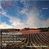 Felix Mendelssohn - Mendelssohn: Symphony No. 1; Symphony No. 4 'Italian' (2016)