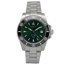Aquacy 1769 Hei Matau Men's Automatic Green Dial Watch Miyota 1769.GR.B.S