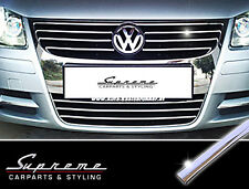 VW EOS I Typ 1F Chrom Zierleisten für Kühlergrill komplett alle Streben 3M