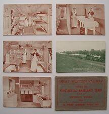 GWR Continental Ambulance Train Set of 5 Railway Officials & Original Envelope