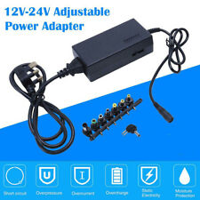 Universal 96W Laptop Power Supply Charger 12V24V AC/DC Adapter For HP Lenovo