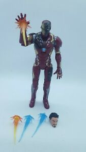 "Marvel Legends 6"" Inch 3-Pack Captain America Civil War Iron Man Loose Complete"