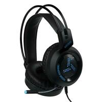 V2000 USB Wired Gaming Headphone Deep Bass 7.1 Surround Sound Light Headset #Z