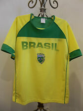 BRAZIL FIFA WORLD CUP GERMANY 2006 FOOTBALL SHIRT SOCCER JERSEY L