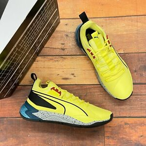 Puma Men's Uproar Core Yellow Basketball Shoes