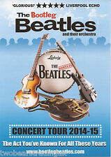 Event Promo Flyer: The Bootleg Beatles - UK Concert Tour 2014/2015