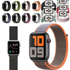 Nylon Sport Band Strap for Apple Watch Series 6 5 4 3 2 1 40mm 44mm 38mm 42mm