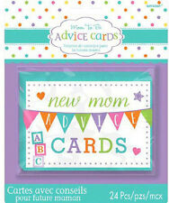 Baby Shower Game Advice Cards Game Boy or Girl Party Game