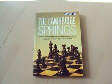 livre échecs  THE CAMBRIDGE SPRINGS