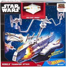 Hot Wheels Star Wars Rebels Plane Ship Fly Mattel Ages 4+ New Toy Pilot Flight