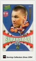 2010 Select NRL Champions Superstar Mascot Gem MG14:Shaun Kenny Dowall (Roost)