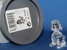 Swarovski Crystal 181317 Sitting Poodle Dog 7619 000 005 Retired 2004 Mib Coa