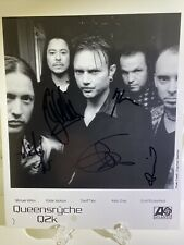 Queensryche Authentic Autographed 8� x 10� Promo Q2K. Read Description!