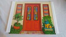 1970 Barbie Lively Livin House Replacement Part, Inside & Outside Front Door
