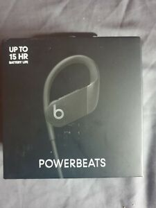 BEATS DR DRE Powerbeats Wireless Bluetooth In-Ear Sport Headphones Mic BLACK
