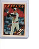 1988 Topps Tiffany #650 Cal Ripken Jr Baltimore Orioles HOF