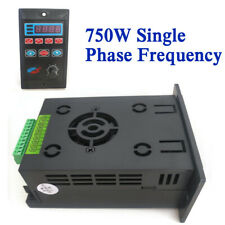750w Variable Frequency Drive Inverter Converter Single 3 Phase Output 110220v